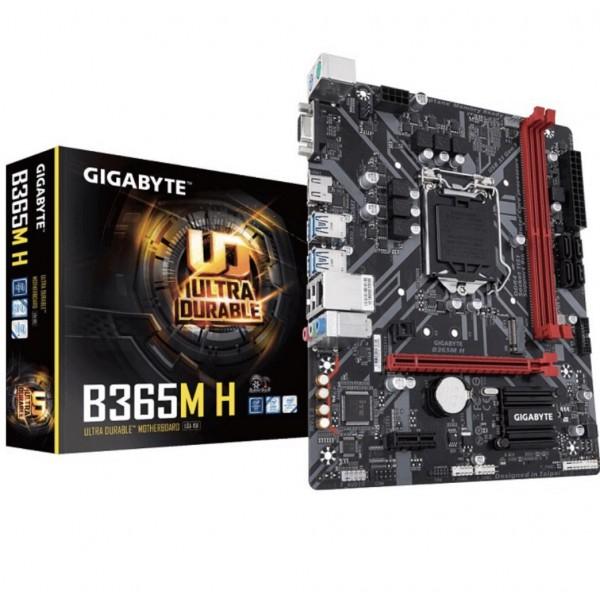 GIGABYTE B365M-H DDR4 SATA3 M2 PCIe NVME HDMI PCIe 16X v3.0 1151p v2 mATX