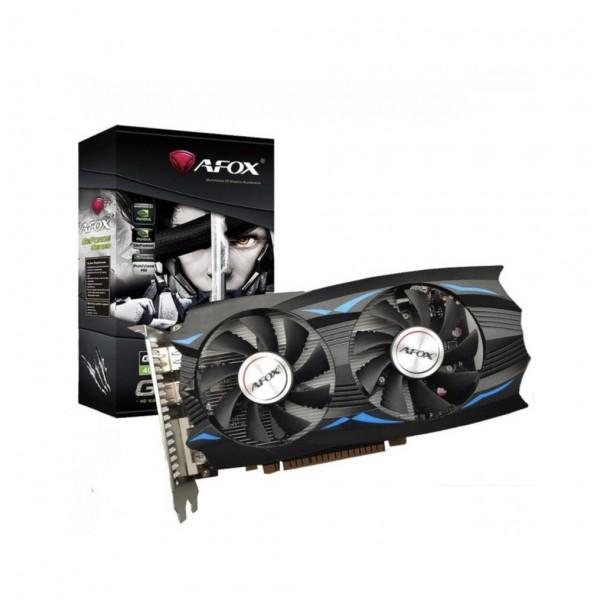 AFOX GTX1050Ti 4GB AF1050TI-4096D5H5 GDDR5 128bit HDMI DVI DP PCIe 16X v3.0