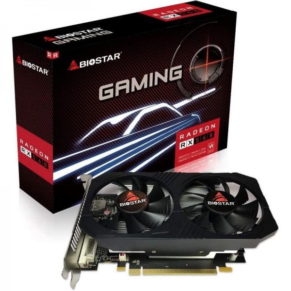 BIOSTAR RX560 4GB VA5615RF41 GDDR5 128bit HDMI DVI DP PCIe 16X v3.0
