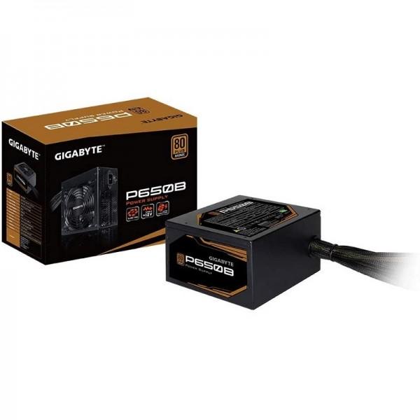 GIGABYTE 650W 80+ BRONZE GP-P650B 12cm Fanlı Tam Modüler Power Supply