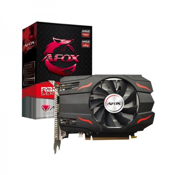 AFOX RX550 4GB AFRX550-4096D5H4-V4 GDDR5 128bit HDMI DVI DP PCIe 16X v3.0