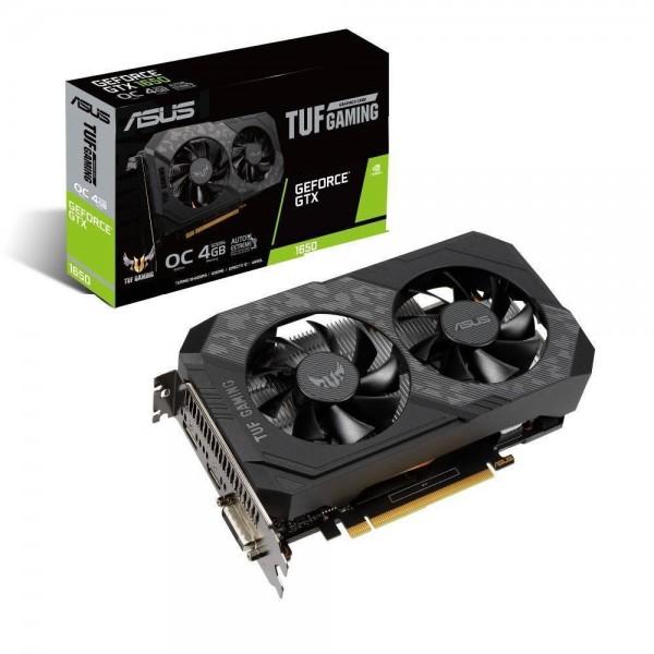 Asus NVIDIA GeForce GTX 1650 TUF Gaming OC TUF-GTX1650-O4GD6-GAMING 4 GB GDDR6 128 Bit Ekran Kartı