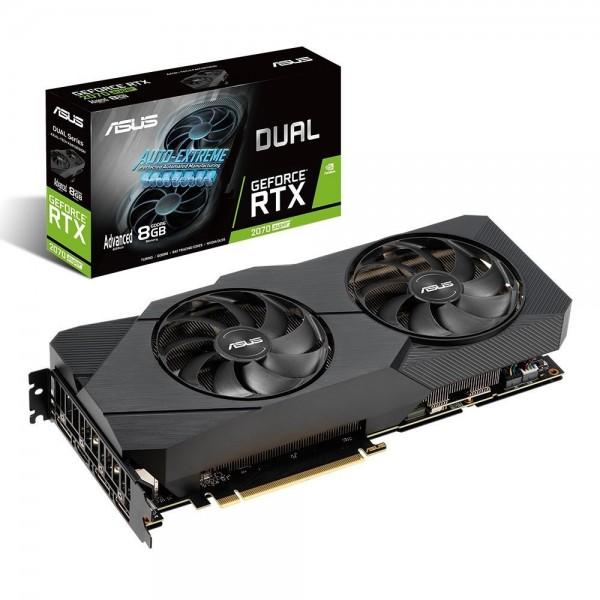 Asus NVIDIA GeForce RTX 2070 Super Advanced Edition DUAL-RTX2070S-A8G-EVO 8 GB 256 Bit GDDR6 Ekran Kartı