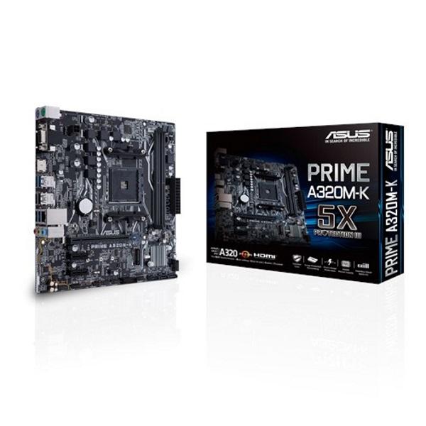 Asus Prime A320M-K AMD A320 3200 MHz (OC) DDR4 Soket AM4 mATX Anakart