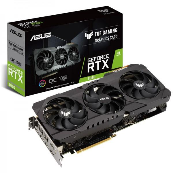 Asus TUF Gaming NVIDIA GeForce RTX 3080 OC Edition 10 GB GDDR6X 320 Bit Ekran Kartı