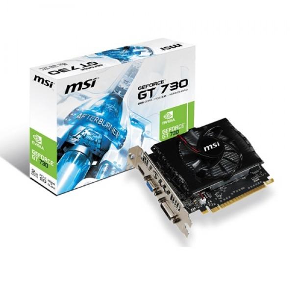 MSI GT730 2GB N730-2GD3V2 DDR3 128bit HDMI DVI PCIe 16X v2.0