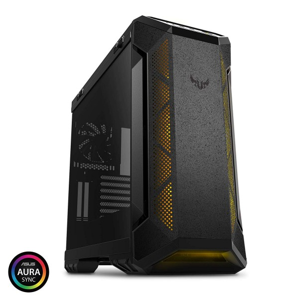 ASUS mid Tower Powersiz Gaming TUF Gaming GT501 ATX PC Kasası Temperli Cam Siyah