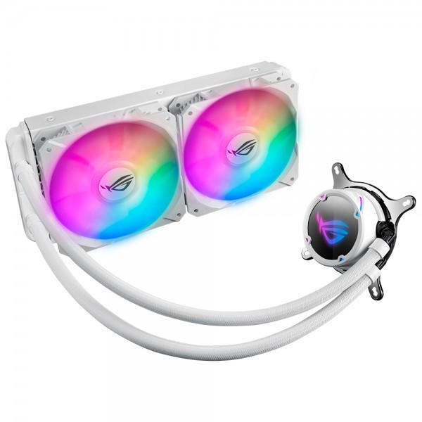 ASUS ROG STRIX LC 240 RGB White Edition Intel,Amd Sıvı Soğutmalı İşlemci Fanı 240mm