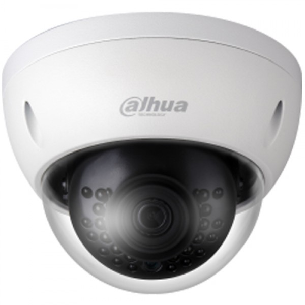 DAHUA (IPC-HDBW1230E-S-0280B) 1/2.7 CMOS 2MP 2.8MM LENS IP67 IK10 POE METAL IR DOME IP KAMERA 30MT.